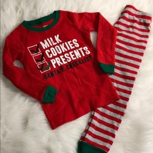 Carter's Christmas PJ set